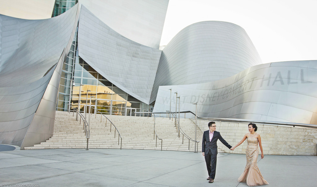 Downtown Los Angeles Engagement-22