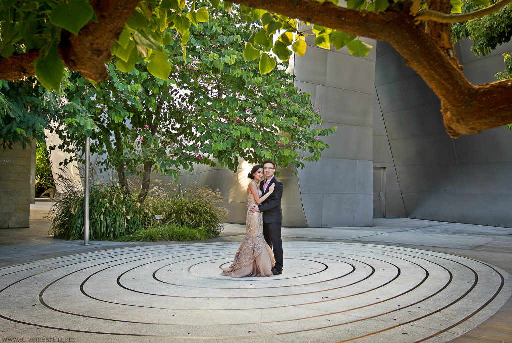 Downtown Los Angeles Engagement-45a