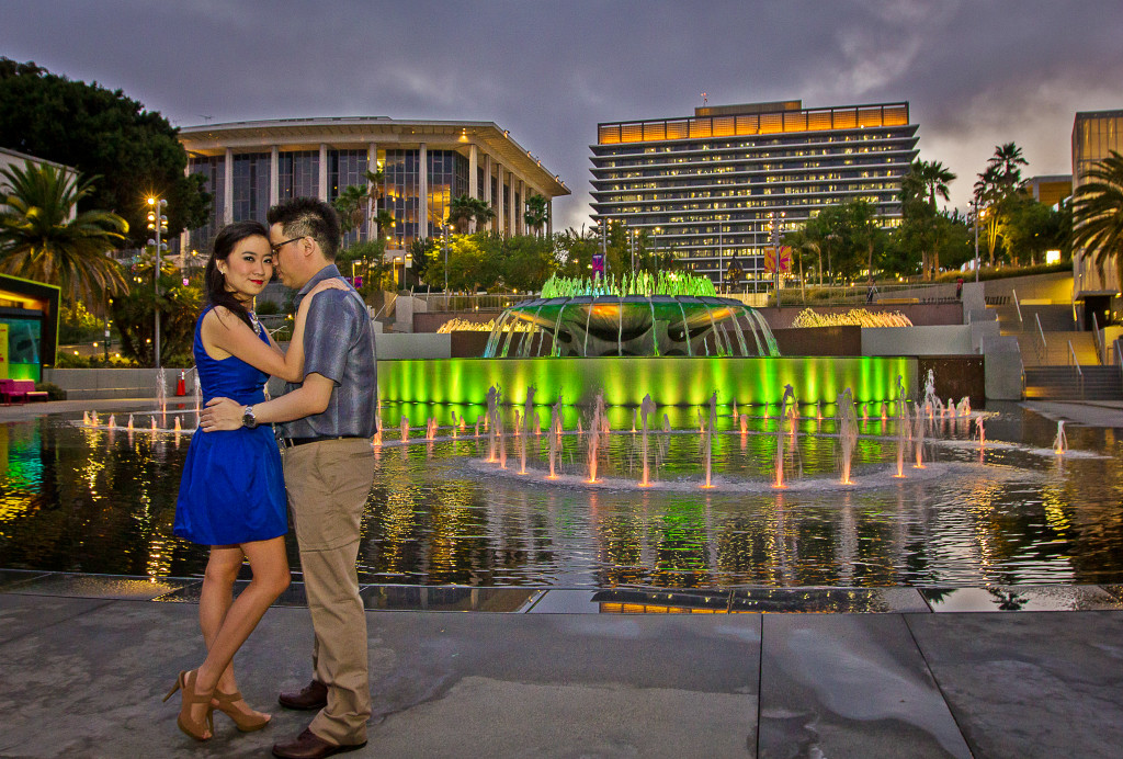 Downtown Los Angeles Engagement-94a