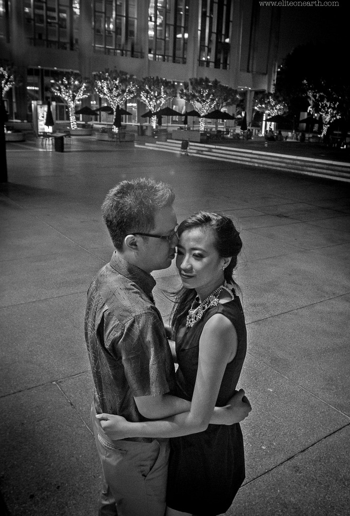 Downtown Los Angeles Engagement-95
