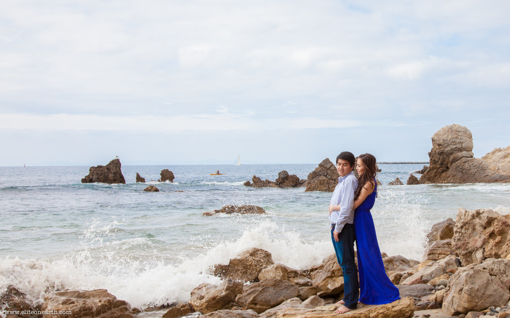Little Corona Beach Engagement-3066