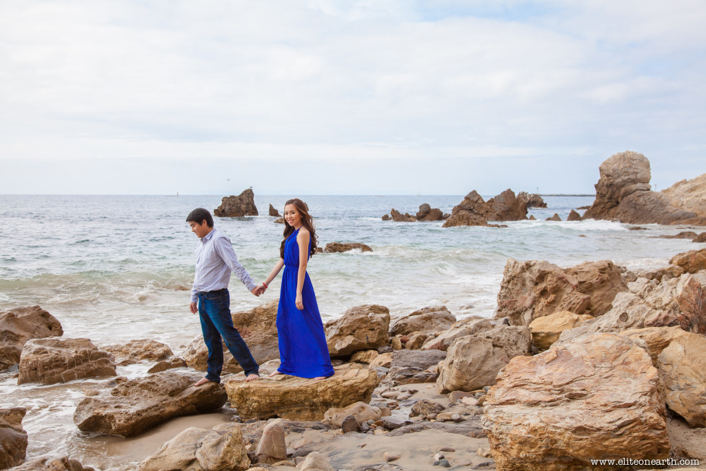 Little Corona Beach Engagement-3097