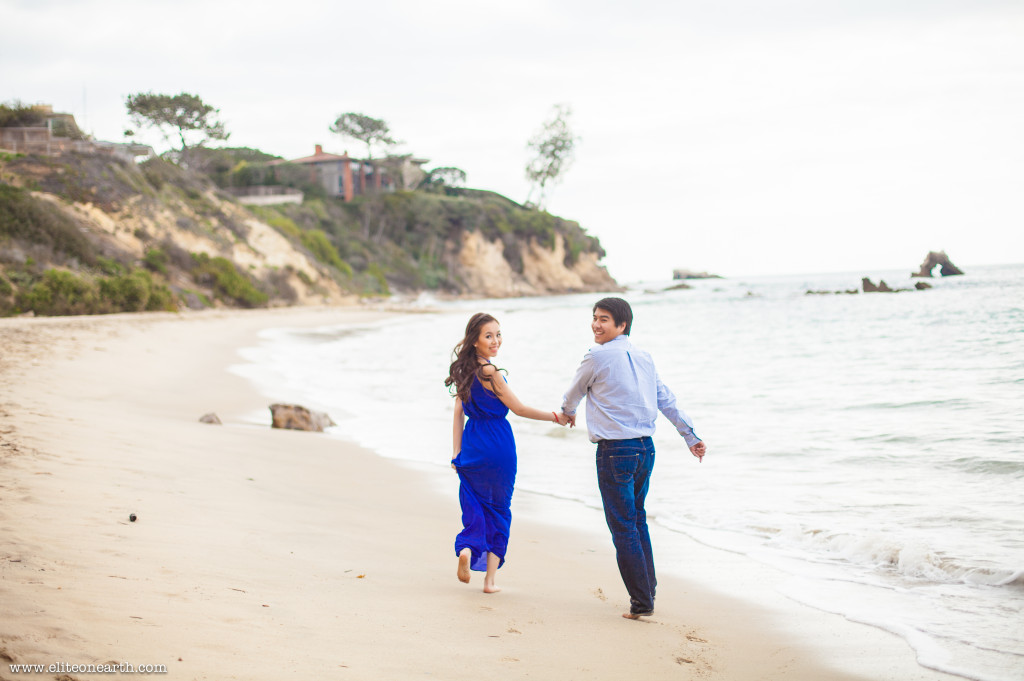 Little Corona Beach Engagement-3273