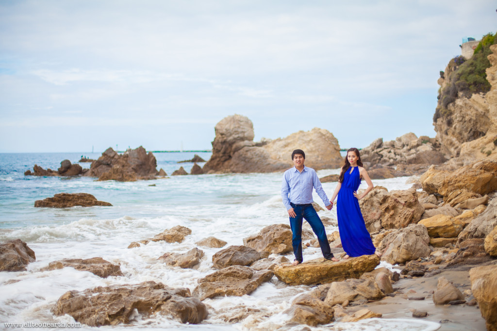 Little Corona Beach Engagement-3353